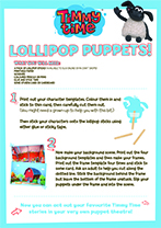 Lollipop Puppets